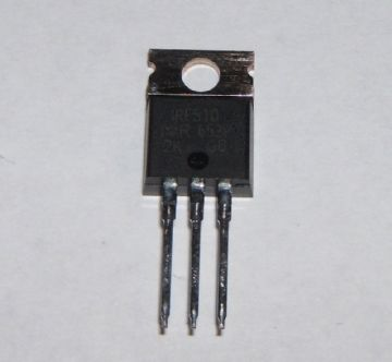 IRF510 MOSFET TO220 N Channel 100V 5.6A Pack of 3